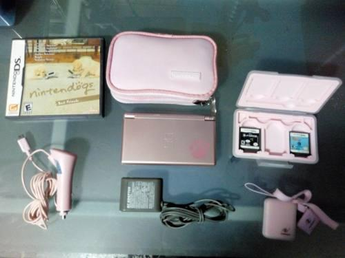 Nintendo Ds Rosa (no Incluye Pokemon)