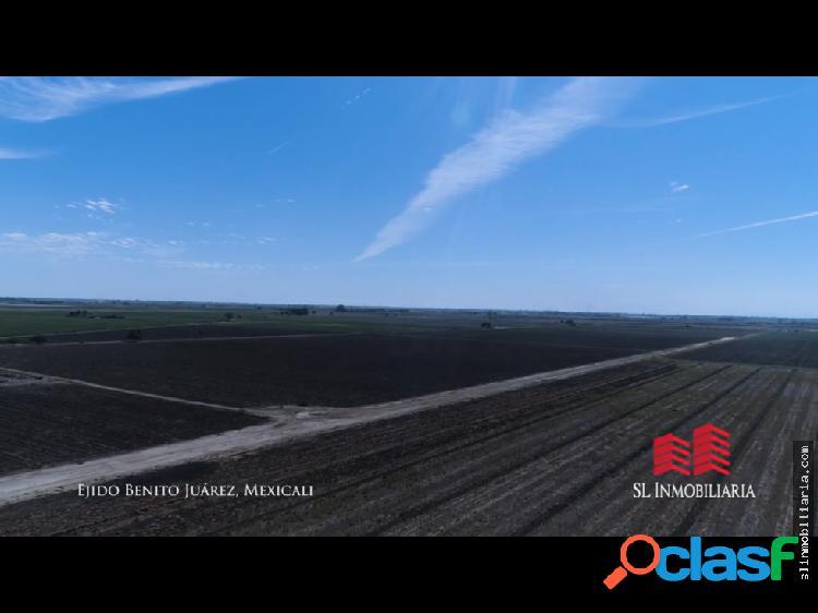 Rancho con permiso de riego, Benito Juárez Mxli