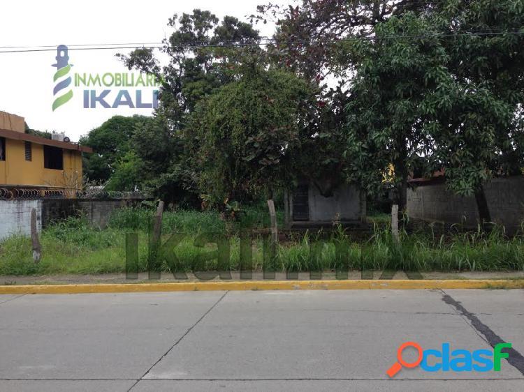 Renta Terreno 623 m² frente al río Tuxpan Veracruz, Adolfo