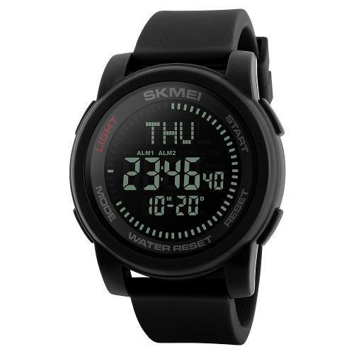 Skmei Deporte Digital Reloj 5atm Agua Resistente A Hombres R