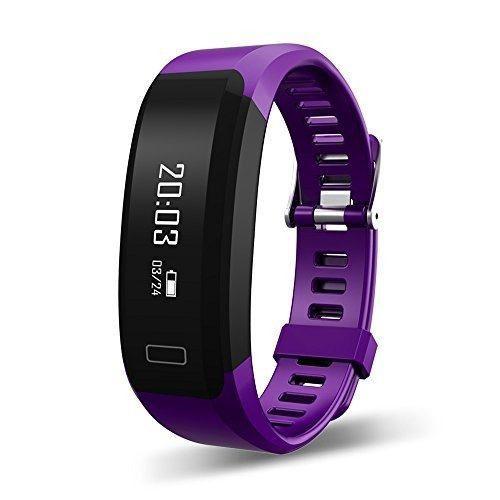 Tecomax Fitness Brazalete Inteligente Con Monitor De Frecue