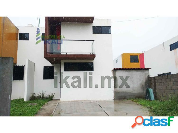 Venta Casa 2 recamaras colonia loma linda Tuxpan Veracruz,
