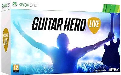 guitar hero live para xbox 360