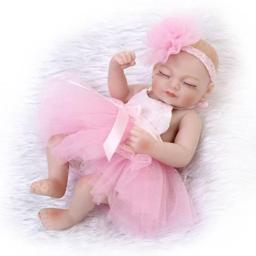 Bebé Reborn Muñeca Silicona Cuerpo Completo Princesa Durmi