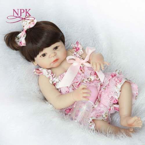 Bebé Reborn Muñeca Simulado 57cm Silicona Princesa