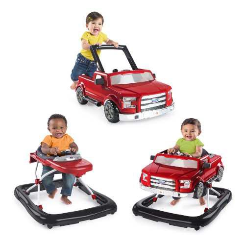 Carreola Andadera Y Carrito Ford F150 Para Niños