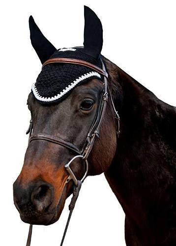 Equinos Couture Mosca Capo De Plata Con La Cuerda Y Cristale