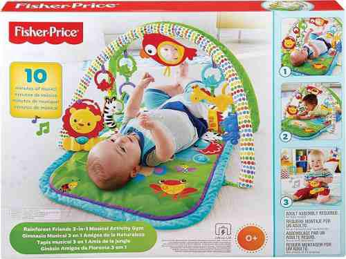 Gimnasio Musical 3 En 1 Amigos E La Naturaleza Fisher-price