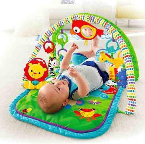 Gimnasio Musical 3 En1 Amigos De La Naturaleza Fisher Price