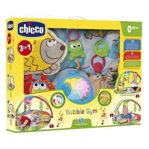Gimnasio Musical Para Bebé Chicco 3 En 1 Bubble Gym