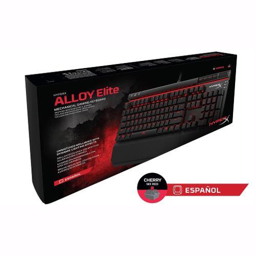 Hyper X Teclado Gaming Alloy Elite Fps Red Hx-kb2rd1-la/r2