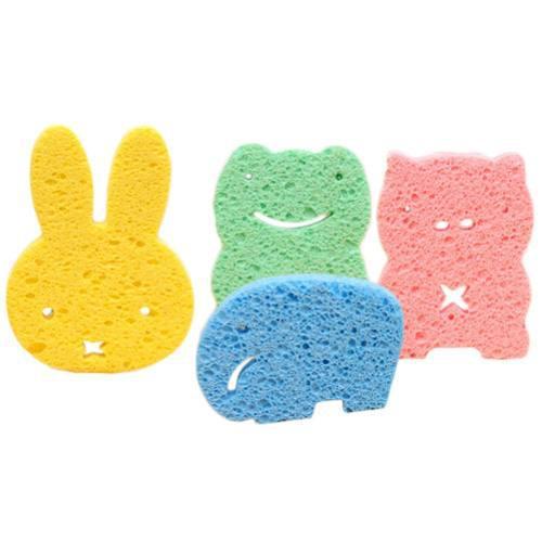 Juego De 3 Esponjas Para Bebé D Animalitos Obsequio