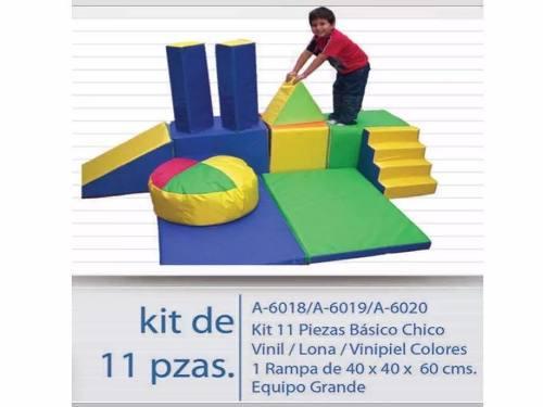 Kit De Estimulación Temprana 11 Pzs. En Vinil, Envío