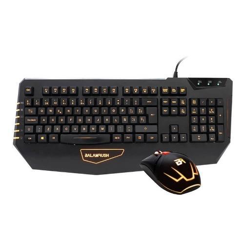 Kit Teclado Y Mouse Gaming Balam Rush Br- Usb