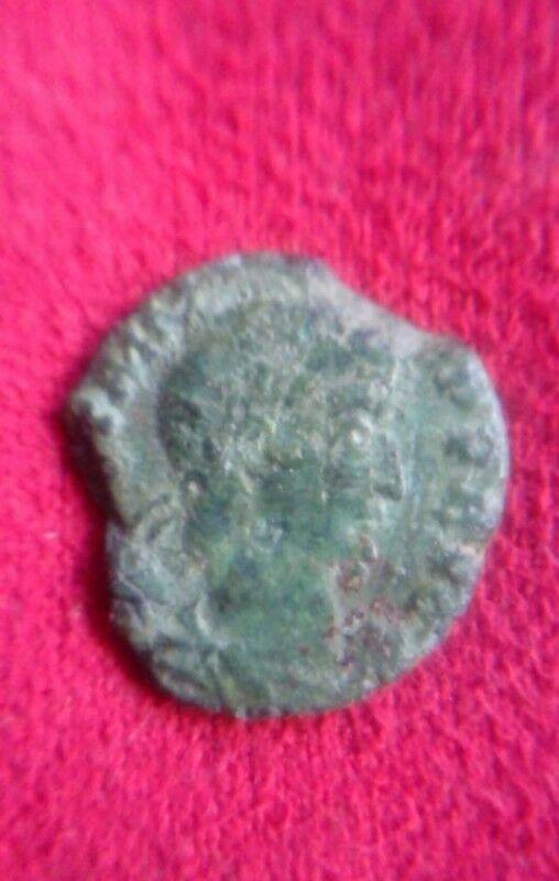 Moneda Romana Antigua Siglo IV Quinarius 8 Asses Muy Rara y