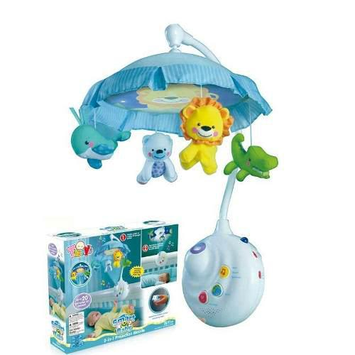Movil Colgante Musical Para Cuna Bebe Fisher Price Con Luz