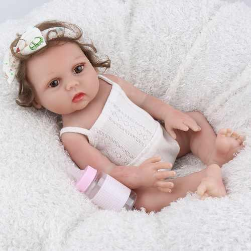 Renace Bebé Silicona Muñeca Realista Regalo Para Niñas