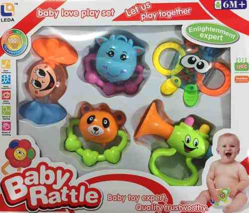 Set De Sonajas Móviles Para Bebé Juguete Sonajero Lb-0606
