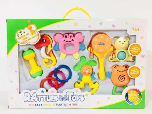 Set De Sonajas Móviles Para Bebe Juguete Sonajero Lb-0577