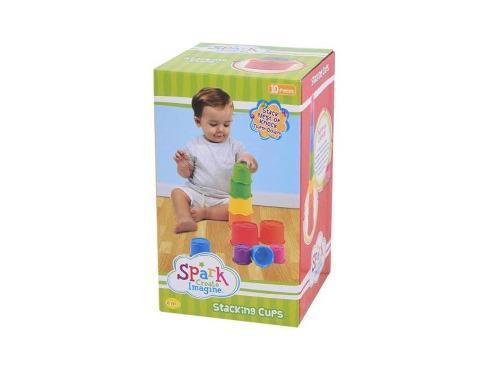 Tazas Para Apilar Arcoiris Para Bebés 10 Pzs Spark Create