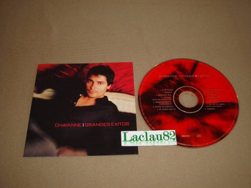Chayanne Grandes Exitos  Columbia Cd