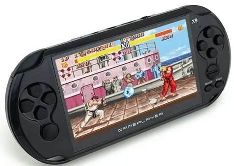 Consola Portátil Video Juegos Emulador Nes 5 Pulgadas