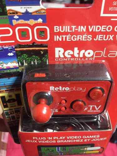 Control Retro 200 Juegos