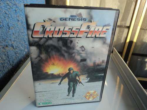 Crossfire Sega Genesis