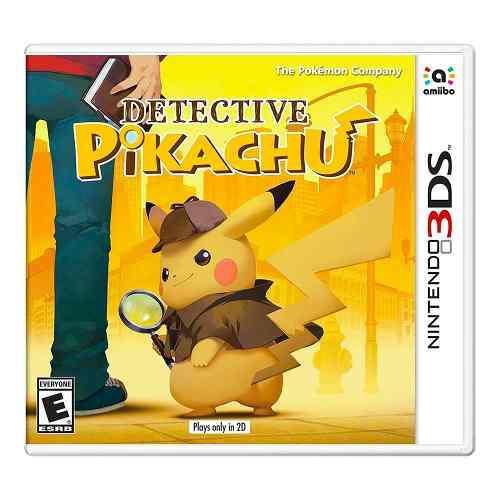 Detective Pikachu Para Nintendo 3ds - Nuevo Y Sellado