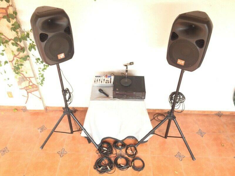 EQUIPO DE SONIDO PROFESIONAL, Stereo Receiver, 4 Channel