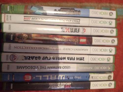Lote De 9 Videojuegos Para La Consola Xbox 360
