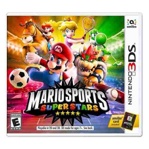Mario Sports Superstars Para Nintendo 3ds - Nuevo Y Sellado