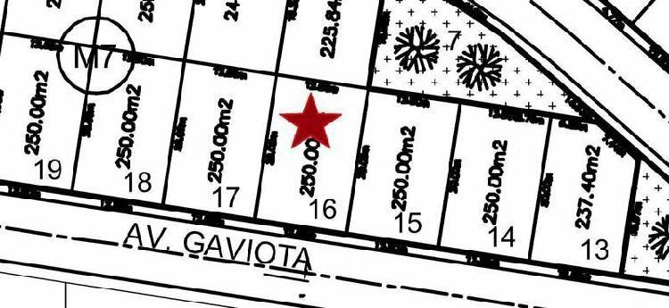 PALMAS GREEN, Terreno en VENTA de 250 m2 en $3,780 el m2 /