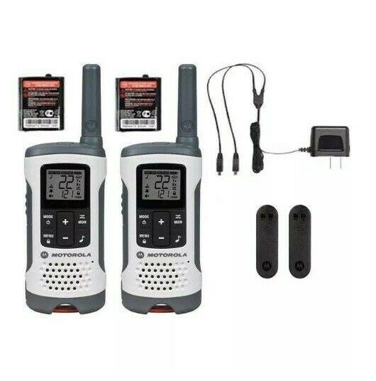 Radios de 2 vías NUEVOS Motorola T260Mc, 36km, 1 año