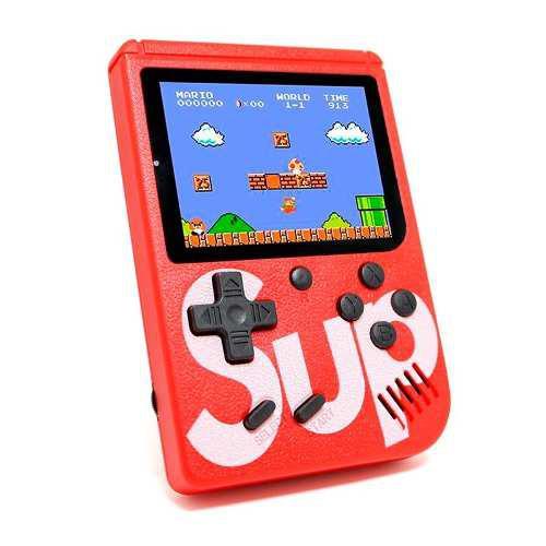 Shoptech Consola Game Box Sup 400 Videojuegos Retro Nintendo