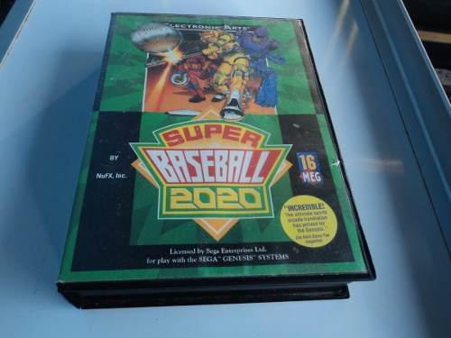 Super Baseball 2020 De Snk Para Sega Genesis