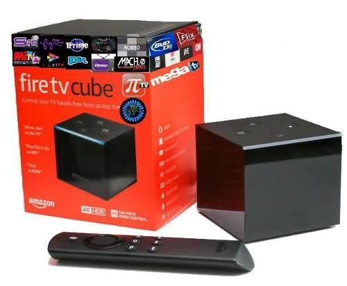 Amazon Fire Tv Cube Cubo 4k + 1 Mes Regalo Firetv Adtek Mx