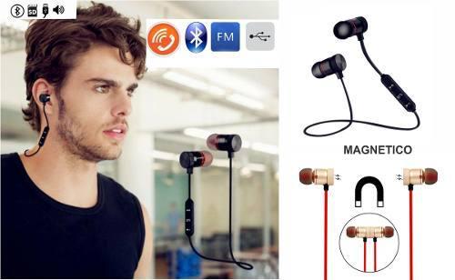Audífonos Bluetooth Manos Libres Con Iman