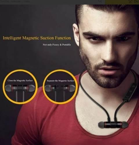 Audífonos Magnéticos Bluetooth Llamada Música Envio