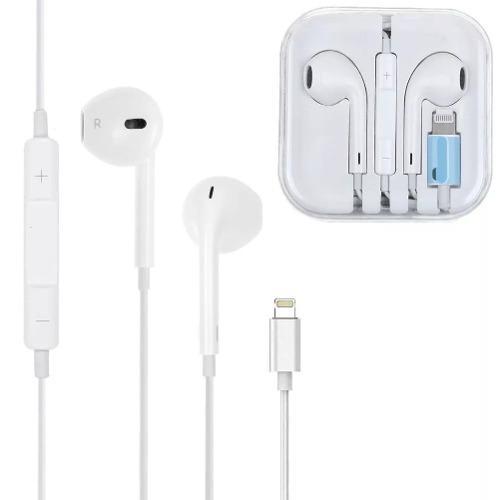 Audifonos Lightning iPhone 7 8 Plus X Xs Xr Max