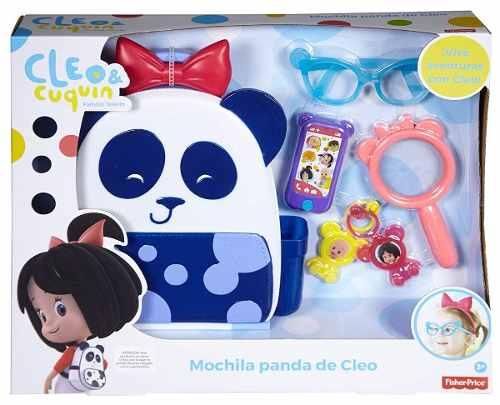 Cleo Cuquín Bolsa Panda Cleo Fisher Price Familia Telerín