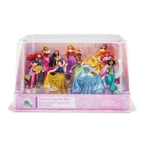 Disney Princesas Set 11 Figuras Deluxe Disney Store
