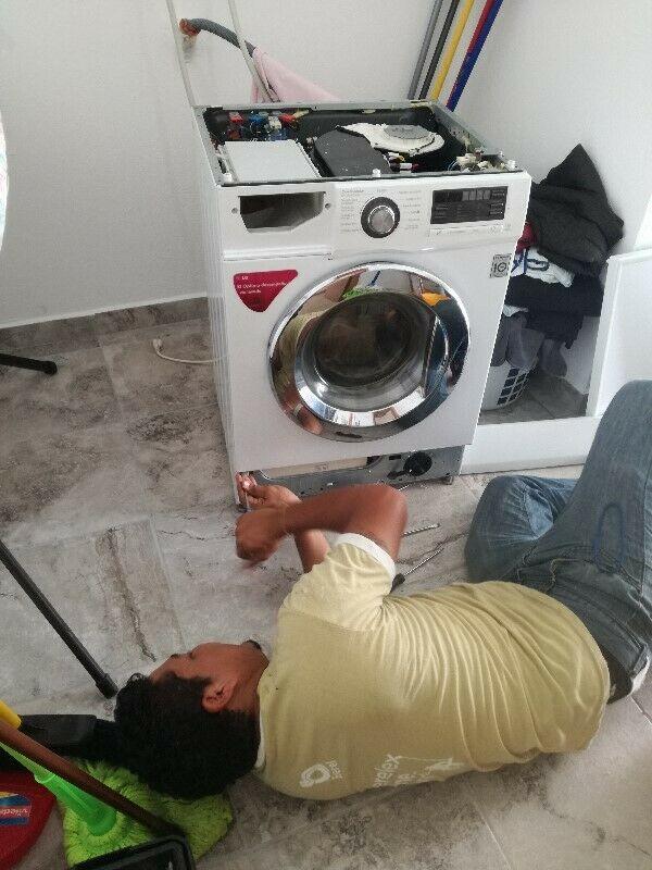 Especialista en reparación de lavadoras. Boca del rio y