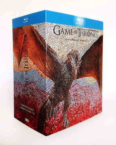 Game Of Thrones Juego Tronos Temporadas  Blu-ray