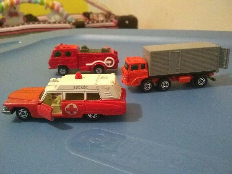 Lote de coches de juguete de los 70's