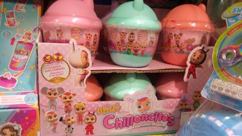 Mini Chillonsitos Sorpresa / Cry Babies Surprise Originales
