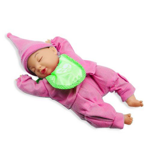 Muñeco Bebé Dormilón De Juguete Para Niñas Día Del