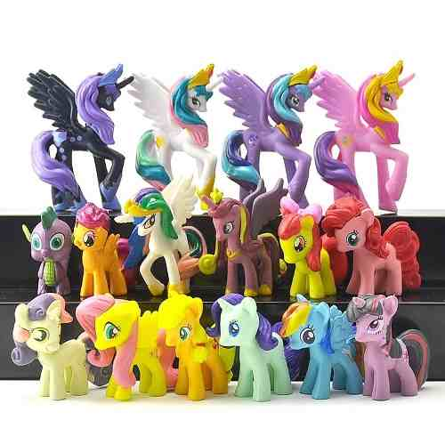 My Little Pony Set 16 Figuras Coleccionables + Envío Gratis