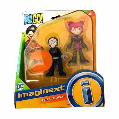 Red X Y Jinx Teen Titans Go Imaginext