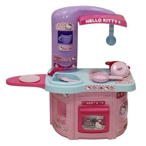 Cocinita Para Niña Cocina First Chef Hello Kitty Prinsel